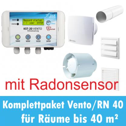 Klimasteuerung KST-20 Vento mit Radon Produktbild